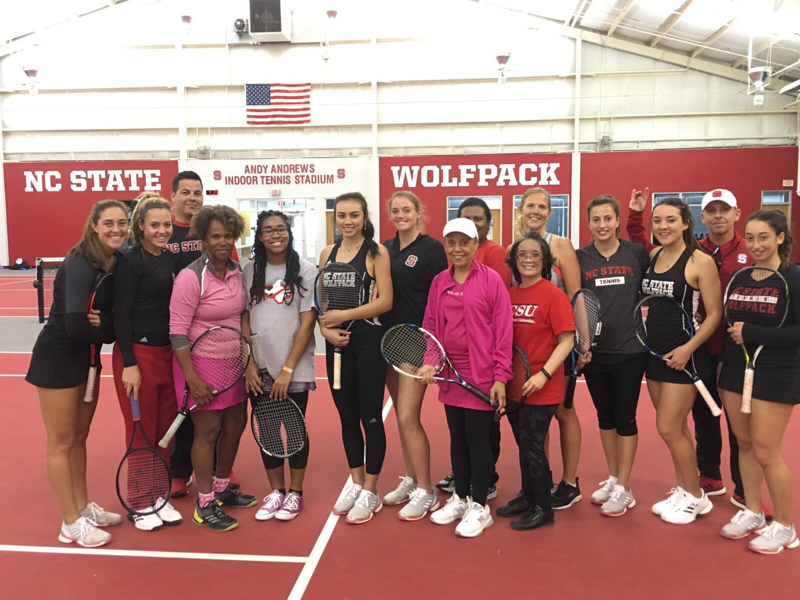 NCSU Womens Tennis Clinic